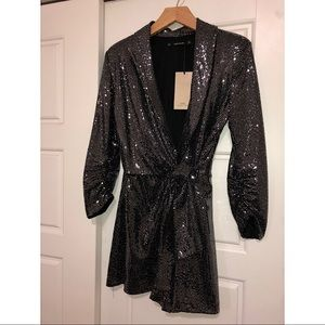 Zara sequin jumpsuit romper size small